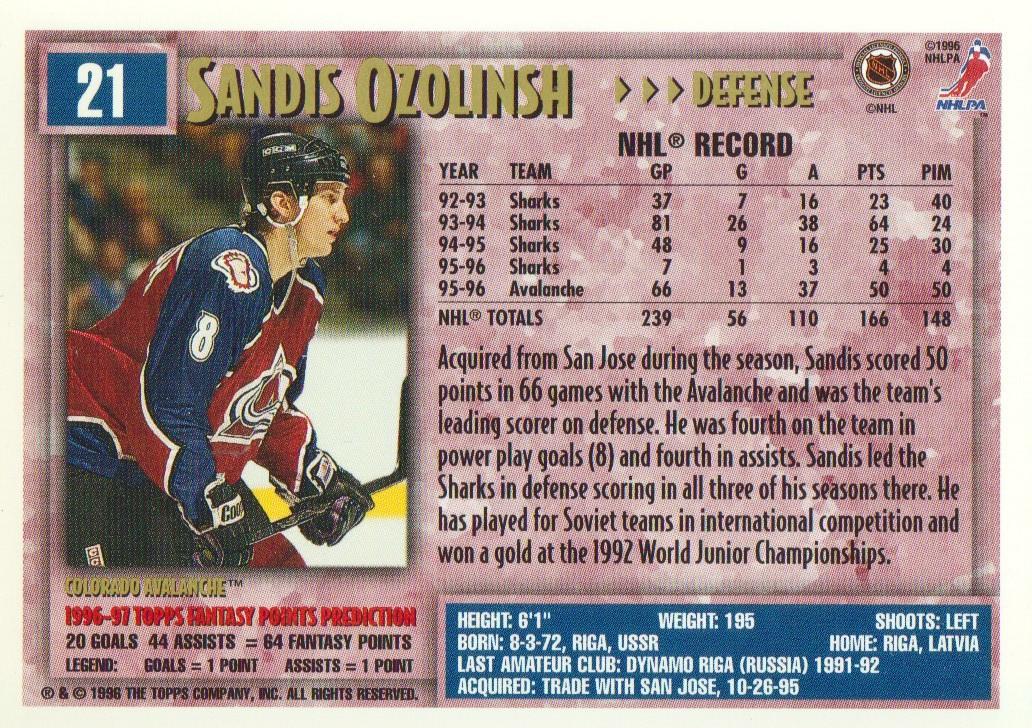1996-97-Topps-Picks-Hockey-Cards-Pick-From-List thumbnail 23