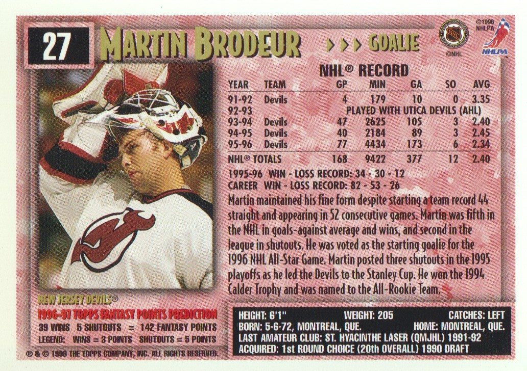 1996-97-Topps-Picks-Hockey-Cards-Pick-From-List thumbnail 29