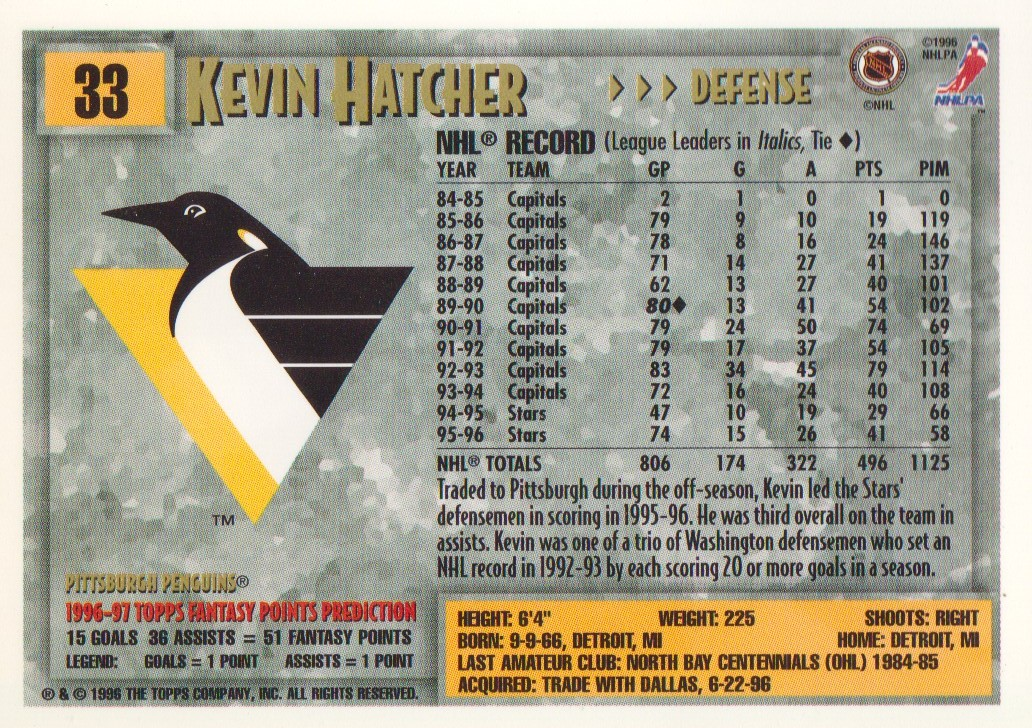 1996-97-Topps-Picks-Hockey-Cards-Pick-From-List thumbnail 35