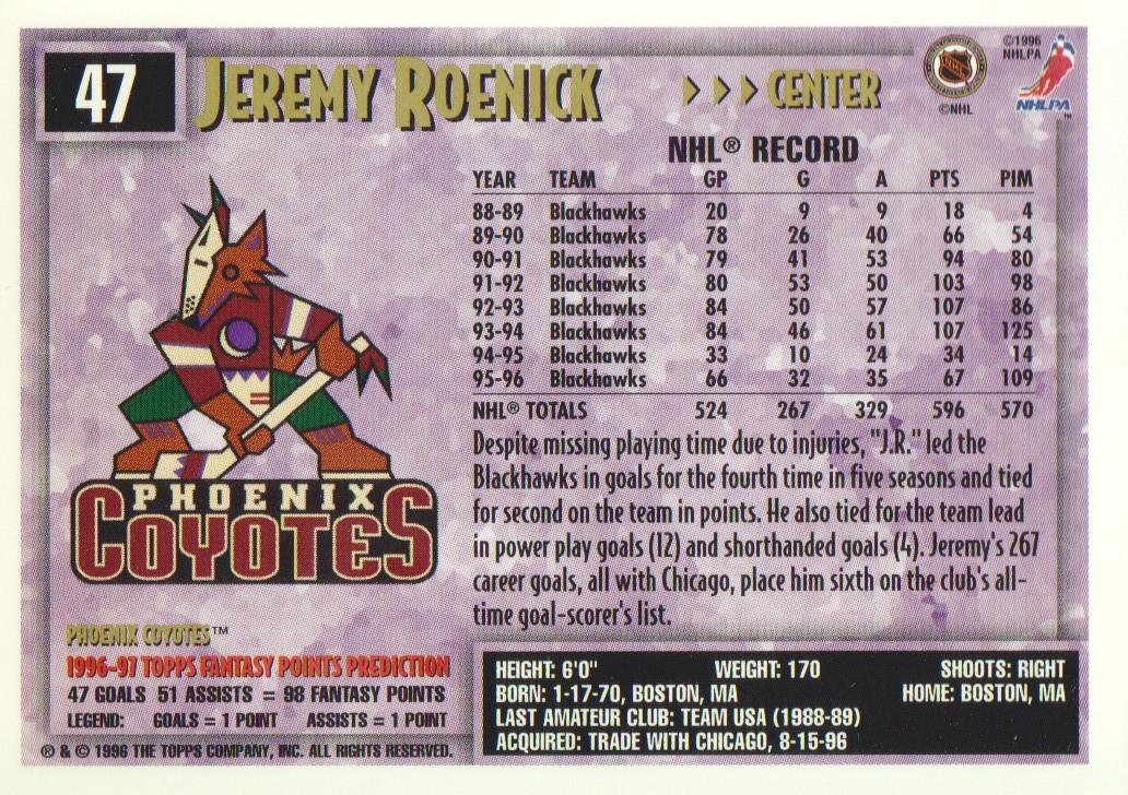 1996-97-Topps-Picks-Hockey-Cards-Pick-From-List thumbnail 49