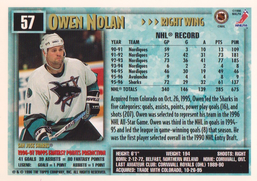 1996-97-Topps-Picks-Hockey-Cards-Pick-From-List thumbnail 59