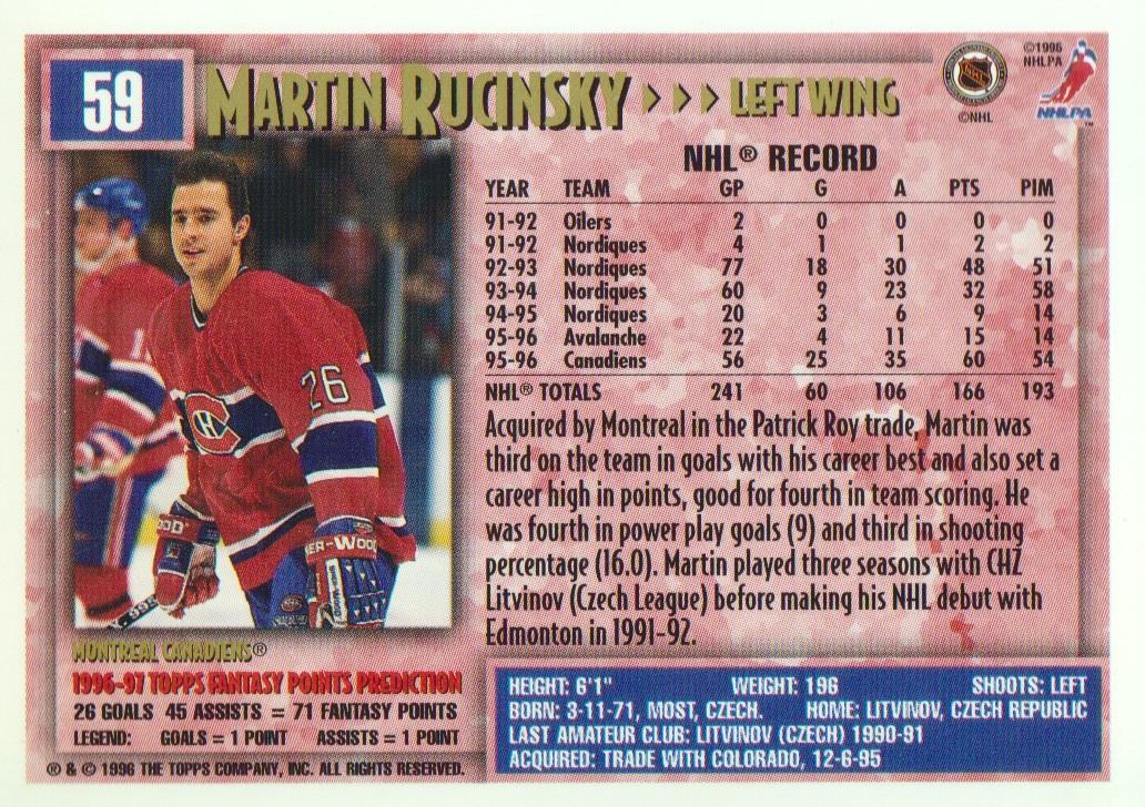 1996-97-Topps-Picks-Hockey-Cards-Pick-From-List thumbnail 61