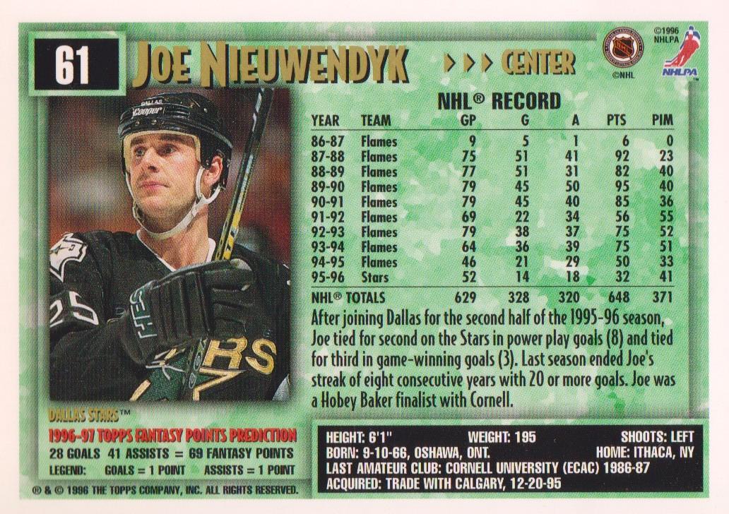 1996-97-Topps-Picks-Hockey-Cards-Pick-From-List thumbnail 63