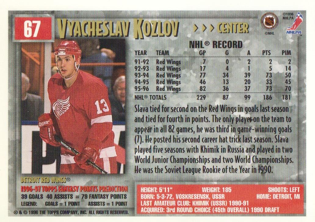 1996-97-Topps-Picks-Hockey-Cards-Pick-From-List thumbnail 69