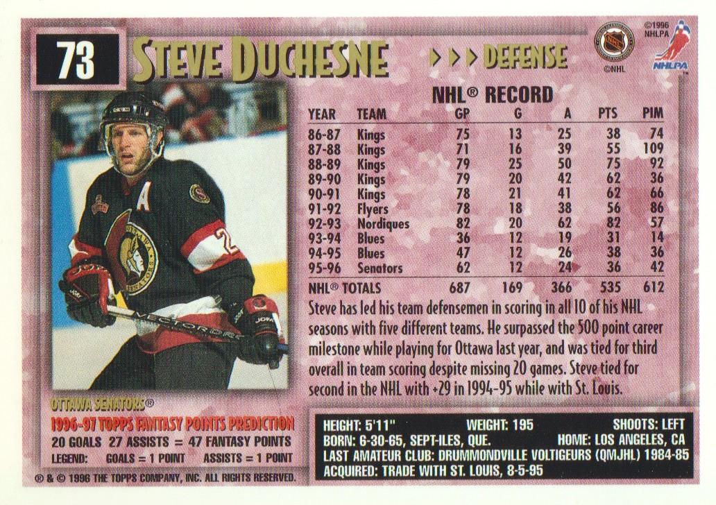 1996-97-Topps-Picks-Hockey-Cards-Pick-From-List thumbnail 73