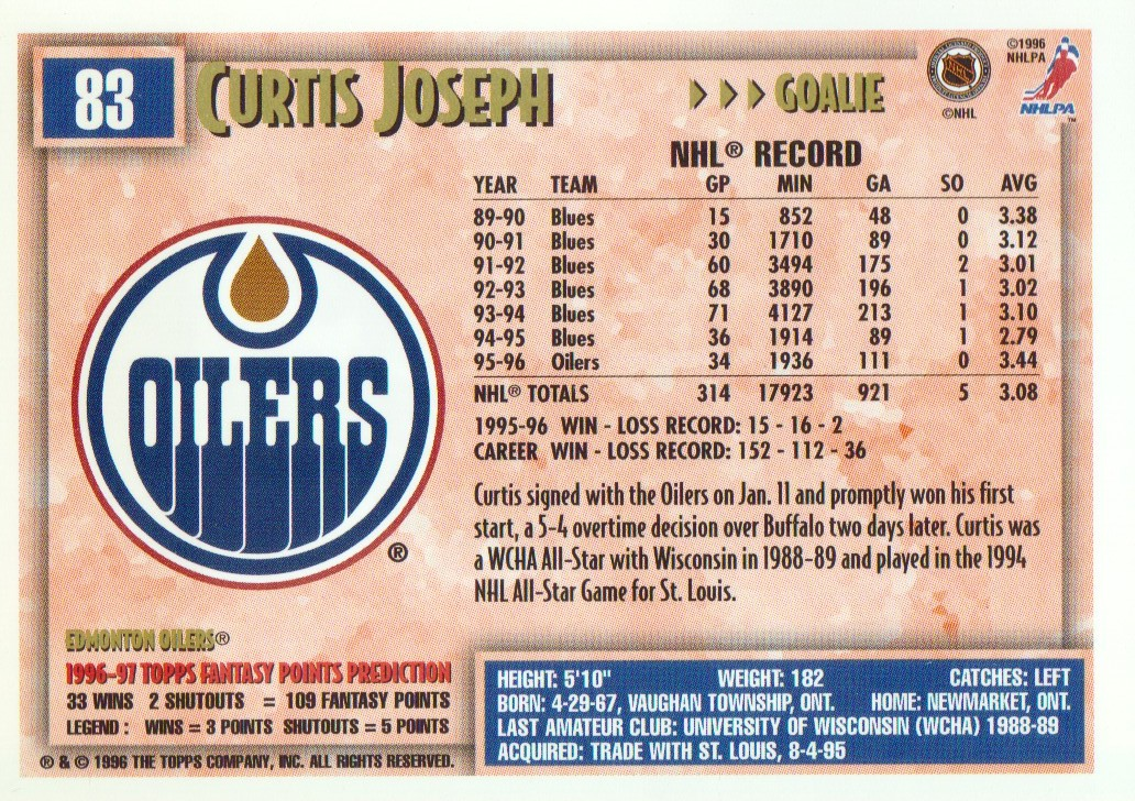 1996-97-Topps-Picks-Hockey-Cards-Pick-From-List thumbnail 83