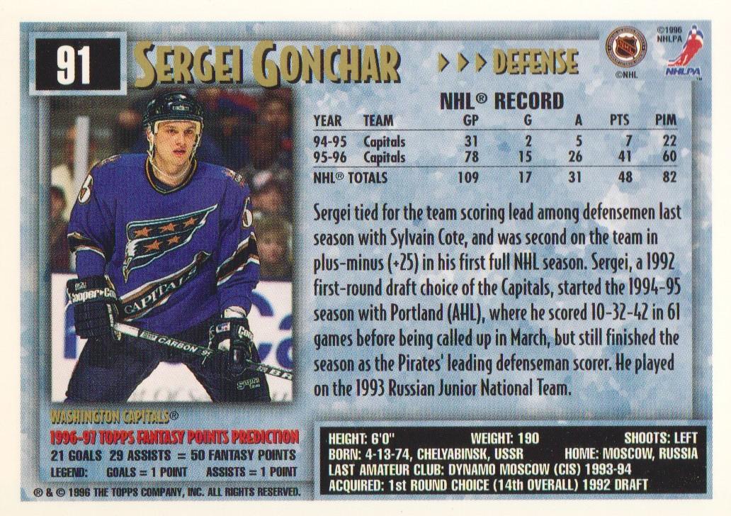 1996-97-Topps-Picks-Hockey-Cards-Pick-From-List thumbnail 91