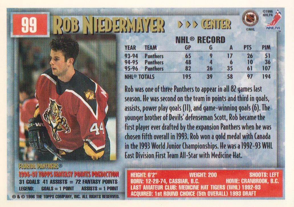 1996-97-Topps-Picks-Hockey-Cards-Pick-From-List thumbnail 99