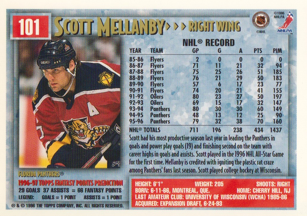 1996-97-Topps-Picks-Hockey-Cards-Pick-From-List thumbnail 101