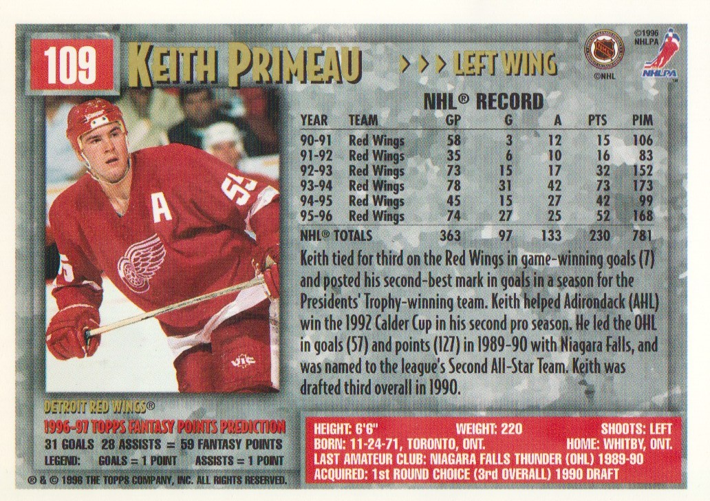 1996-97-Topps-Picks-Hockey-Cards-Pick-From-List thumbnail 109