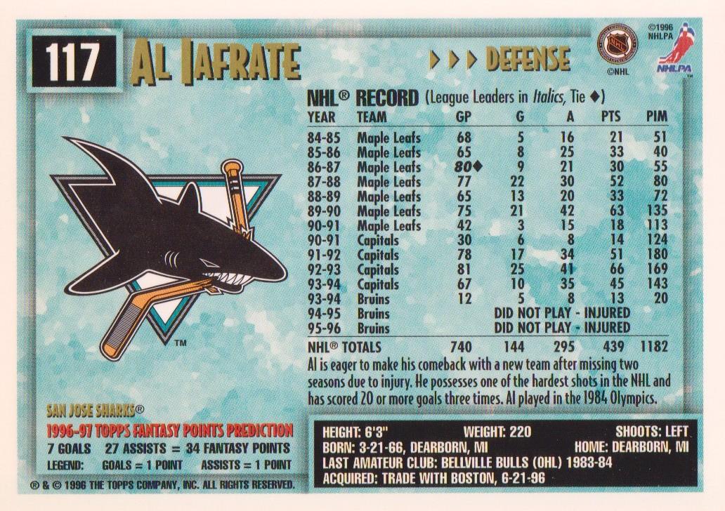 1996-97-Topps-Picks-Hockey-Cards-Pick-From-List thumbnail 117