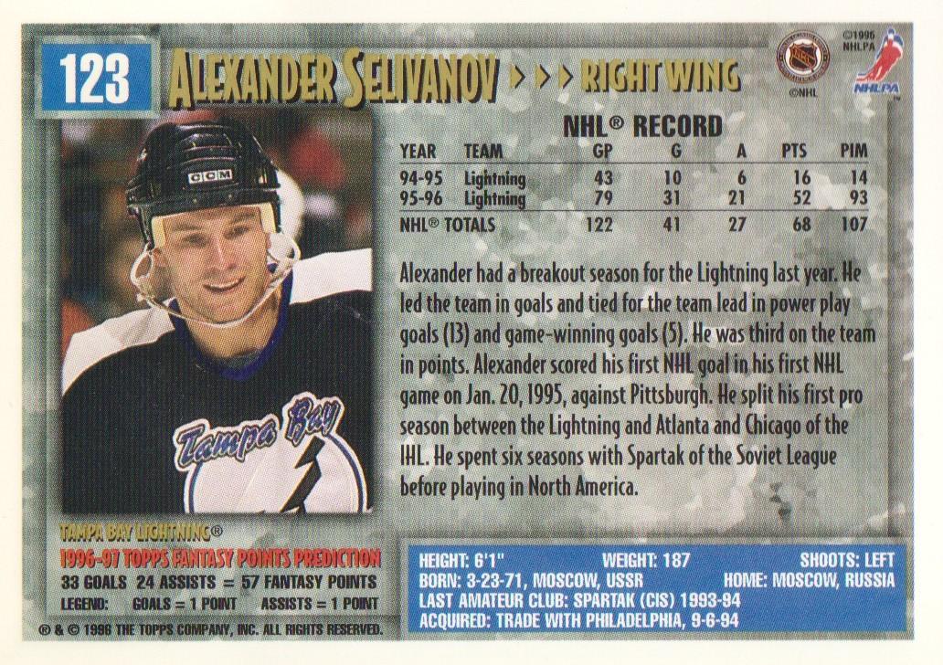 1996-97-Topps-Picks-Hockey-Cards-Pick-From-List thumbnail 123