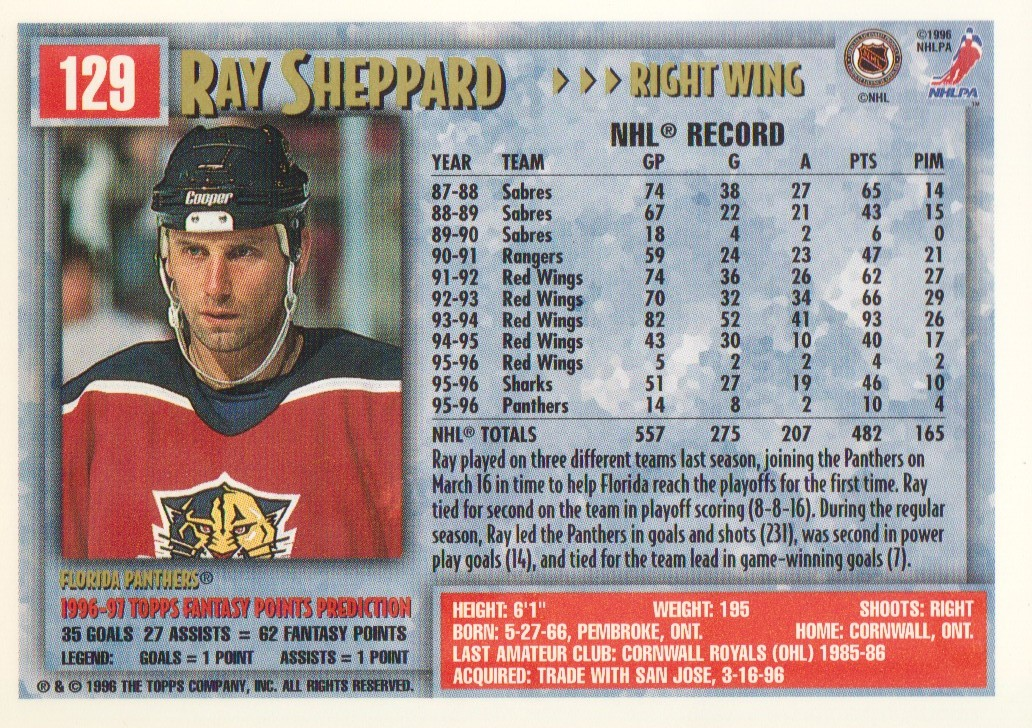 1996-97-Topps-Picks-Hockey-Cards-Pick-From-List thumbnail 129