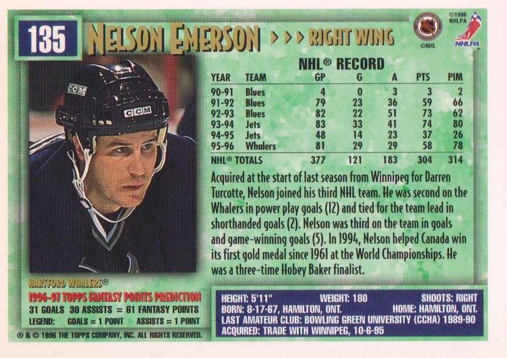1996-97-Topps-Picks-Hockey-Cards-Pick-From-List thumbnail 135