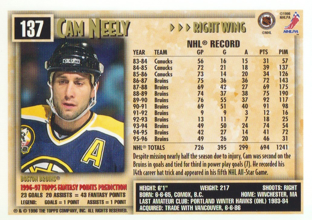1996-97-Topps-Picks-Hockey-Cards-Pick-From-List thumbnail 137