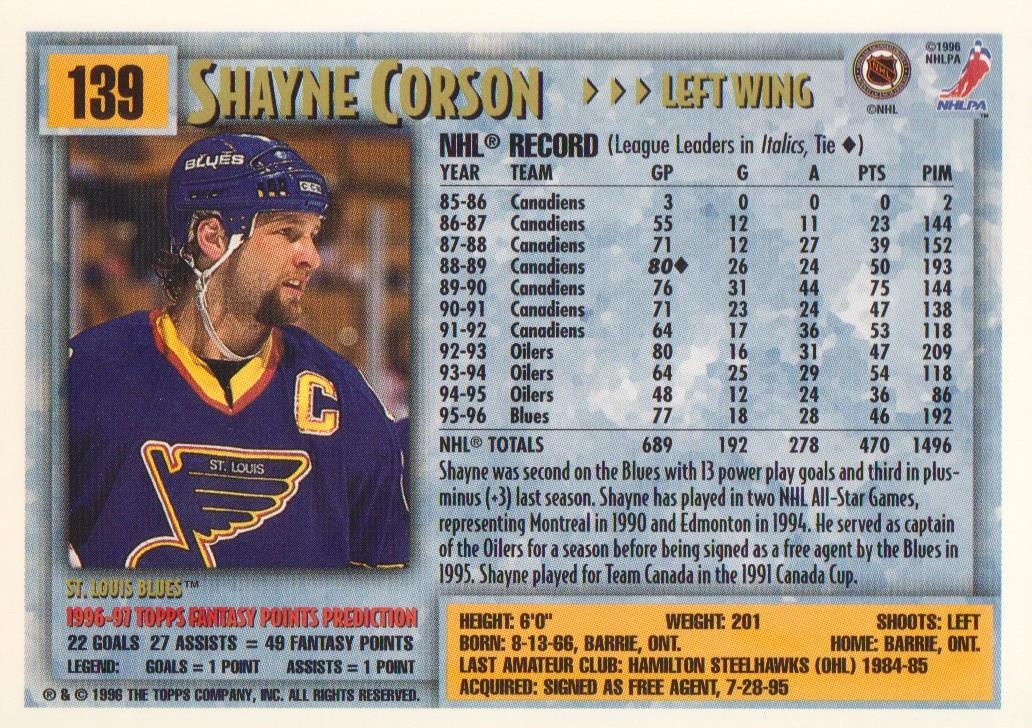 1996-97-Topps-Picks-Hockey-Cards-Pick-From-List thumbnail 139