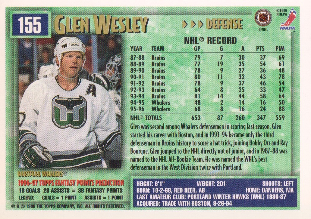 1996-97-Topps-Picks-Hockey-Cards-Pick-From-List thumbnail 155