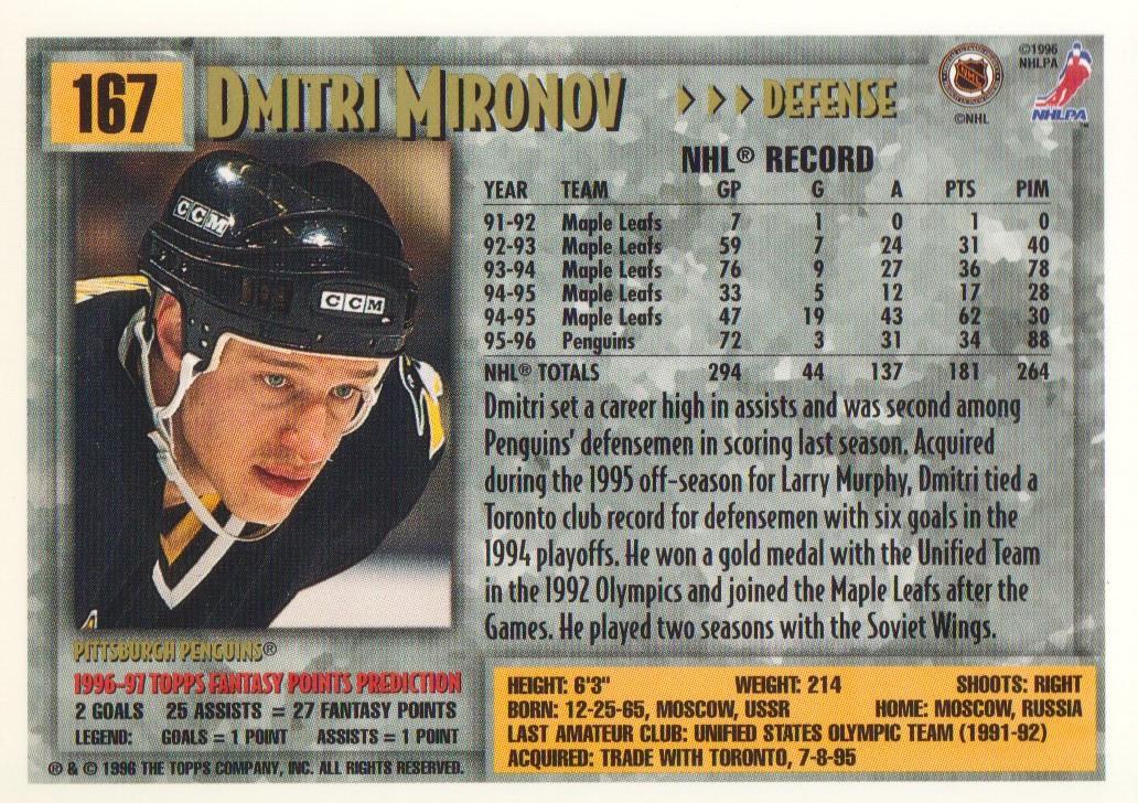 1996-97-Topps-Picks-Hockey-Cards-Pick-From-List thumbnail 163