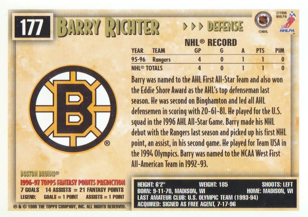 1996-97-Topps-Picks-Hockey-Cards-Pick-From-List thumbnail 171