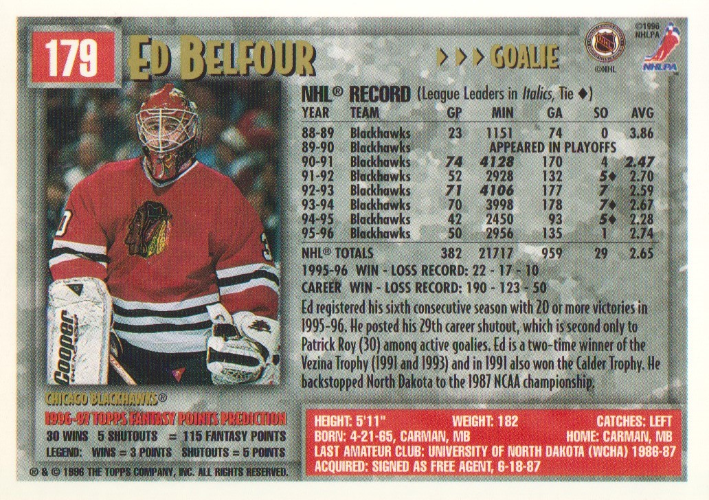 1996-97-Topps-Picks-Hockey-Cards-Pick-From-List thumbnail 173