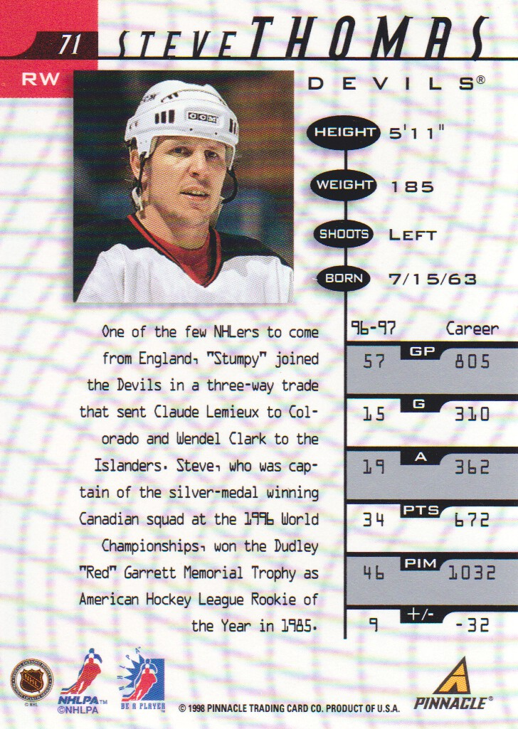 1997-98-Be-A-Player-BAP-Autograph-AUTO-Hockey-Cards-Pick-From-List miniature 7