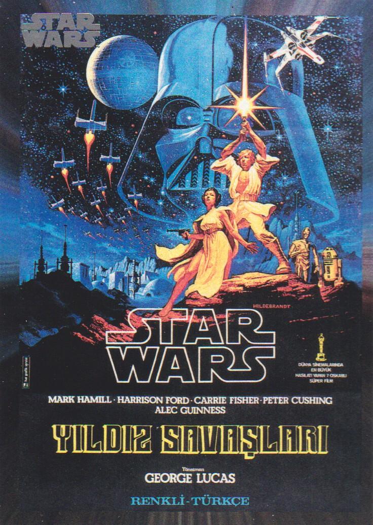 2017 Star Wars 40th Anniversary Card #148 Star Wars Poster