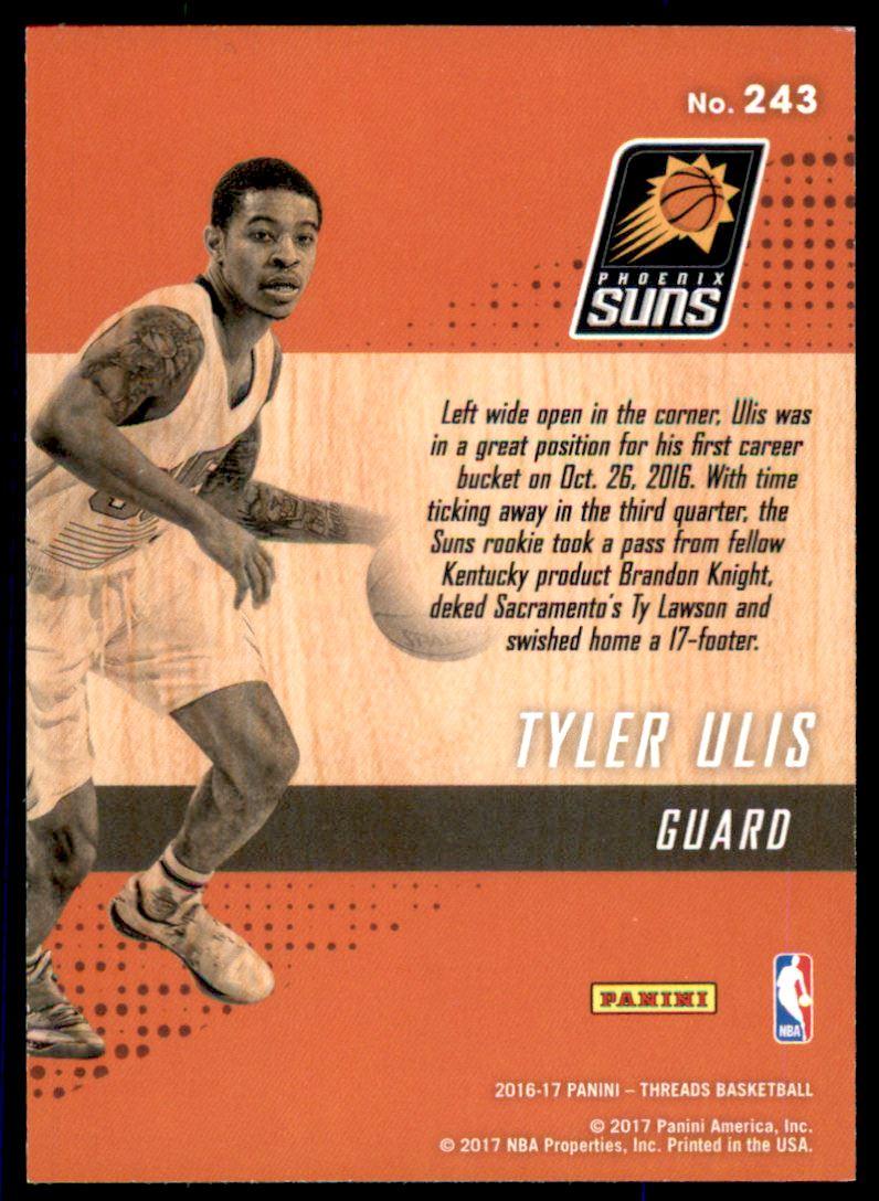 Verzamelkaarten, ruilkaarten 2016 Panini Threads #243 Wood Rookies Tyler Ulis Phoenix Suns RC Basketball Card