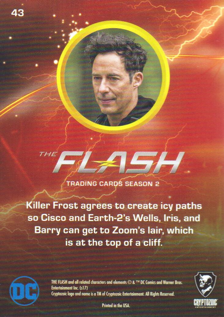 2017 The Flash Season 2 Rainbow Foil #43 Killer Climb back image