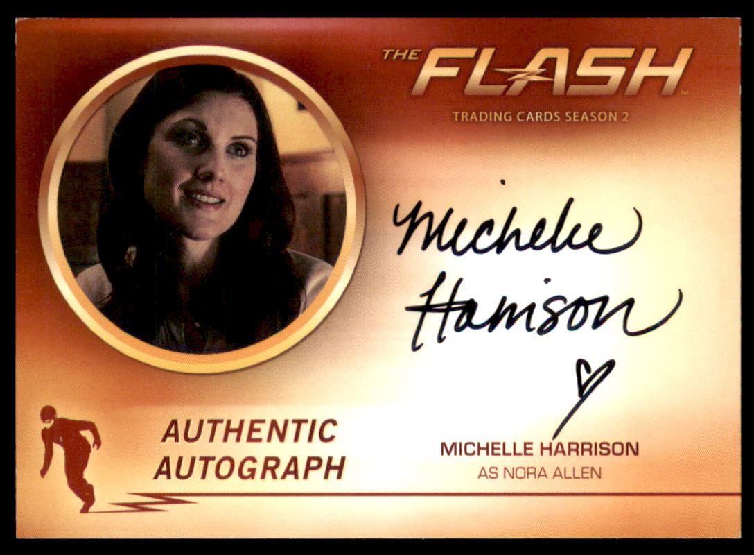2017 The Flash Season 2 Autographs #MH Michelle Harrison as Nora Allen
