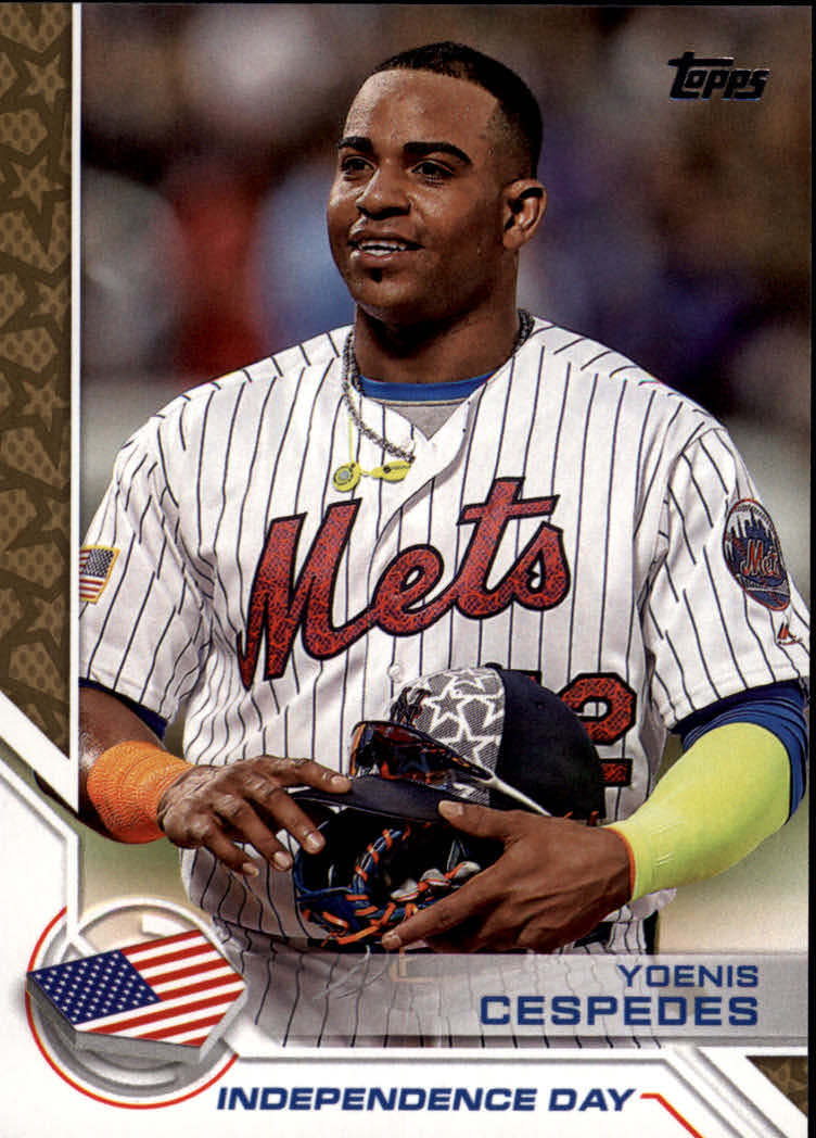 2017 Topps Independence Day #ID19 Yoenis Cespedes