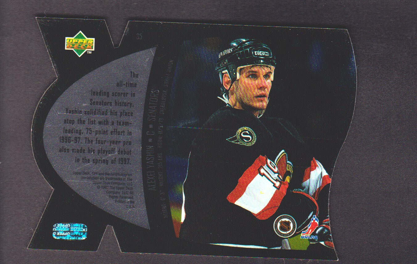 1997-98-SPx-Steel-Parallel-Hockey-Cards-Pick-From-List miniature 9