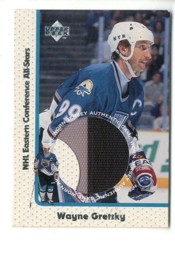 2765d2ac1 1997-98 Upper Deck Game Jerseys  GJ8 Wayne Gretzky - NM-MT
