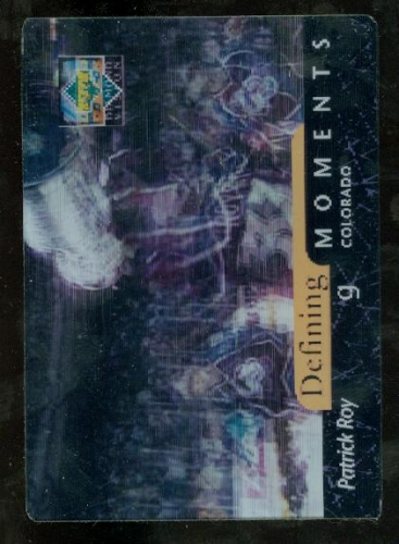 1997-98 Upper Deck Diamond Vision Defining Moments #DM2 Patrick Roy
