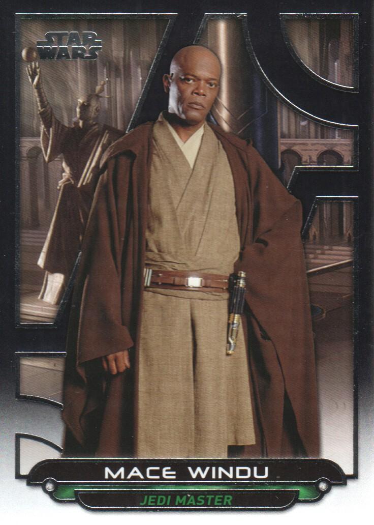 2017 Star Wars Galactic Files Reborn #ROTS-8 Count Dooku ORANGE NrMint-Mint