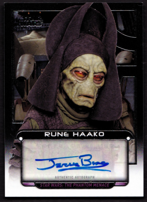 Star Wars Galactic Files Blue Parallel #85 Rune Haako
