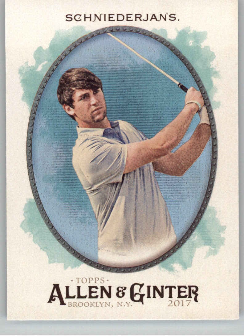 2017 Topps Allen and Ginter Hot Box Foil #127 Ollie Schniederjans