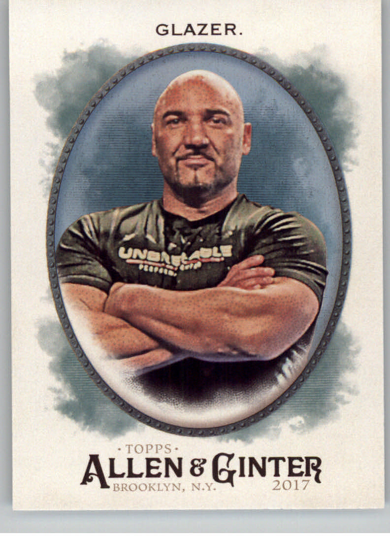 2017 Topps Allen and Ginter Hot Box Foil #191 Jay Glazer