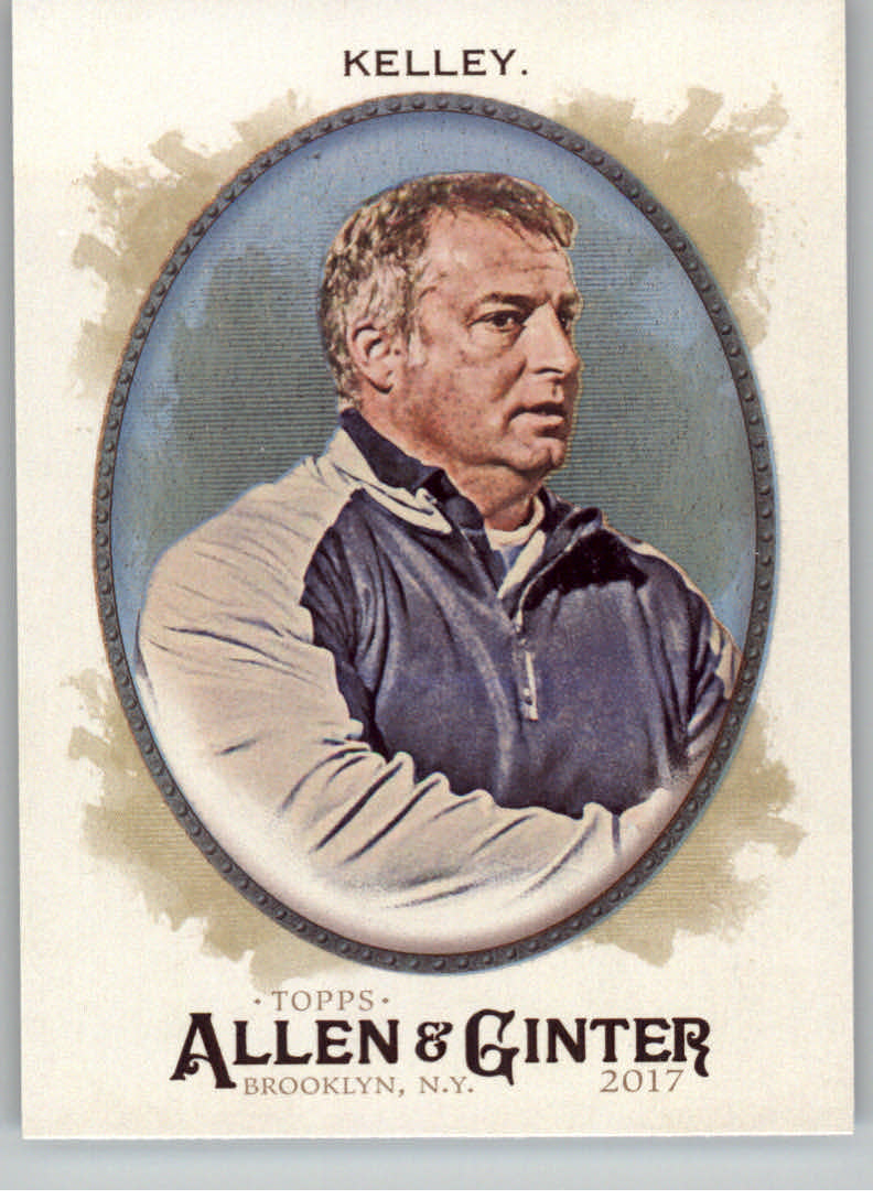 2017 Topps Allen and Ginter Hot Box Foil #263 Kevin Kelley CO