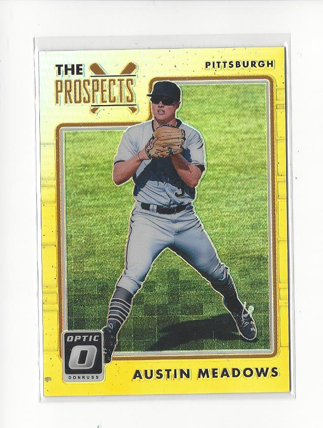 2017 International League Top Prospects Austin Meadows RC Rookie Pirates