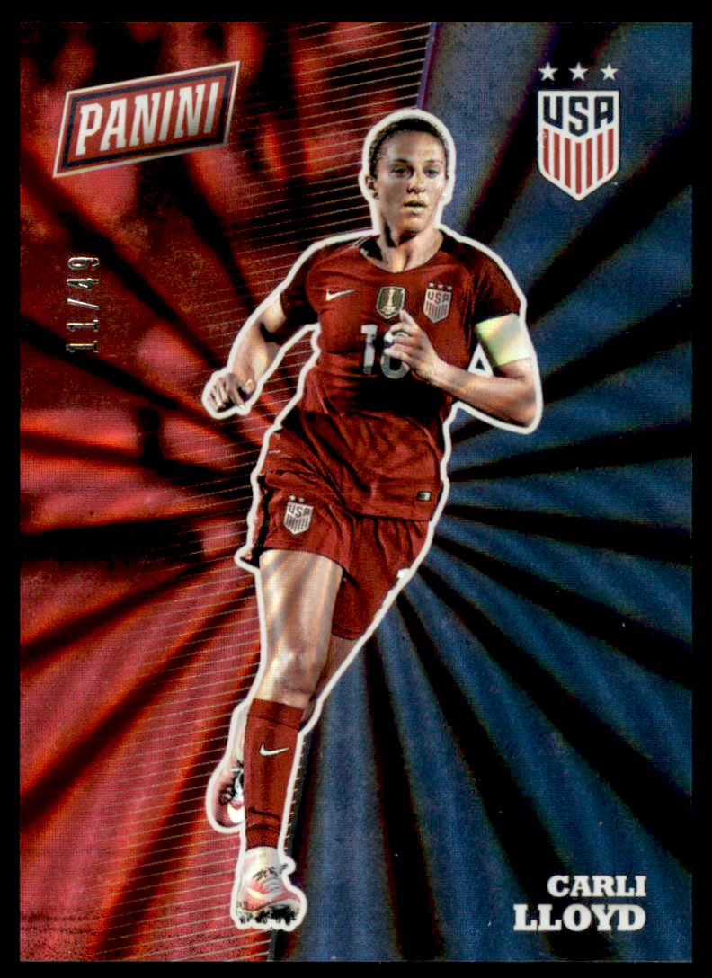 2017 Panini National Convention Rainbow Spokes #S7 Carli Lloyd