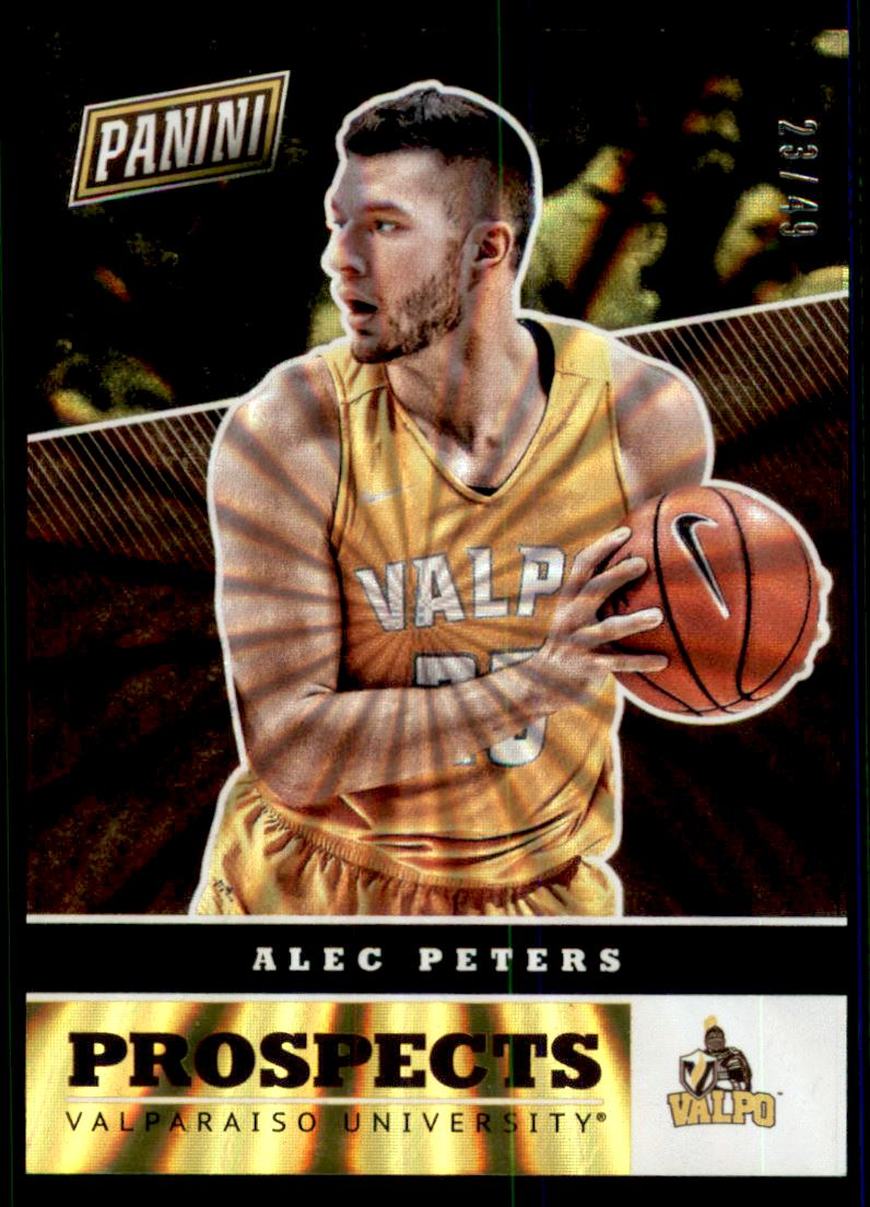 2017 Panini National Convention Prospects Rainbow Spokes #5 Alec Peters