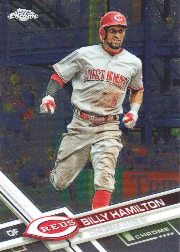Billy Hamilton Cincinnati Reds 150th Anniversary Baseball Jersey - Grey