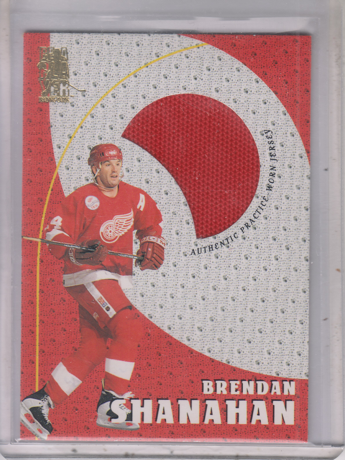 1998-99 Be A Player Playoff Practice Used Jerseys #P21 Brendan Shanahan
