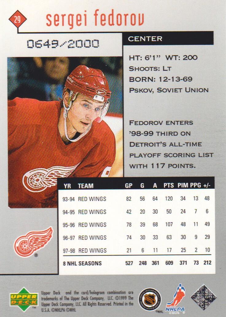 1998-99-Black-Diamond-Double-Diamond-Parallel-Hockey-Cards-Pick-From-List miniature 3