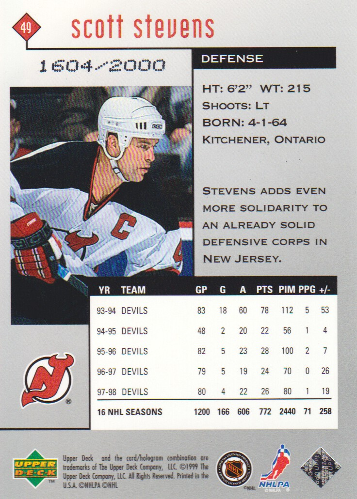 1998-99-Black-Diamond-Double-Diamond-Parallel-Hockey-Cards-Pick-From-List miniature 7