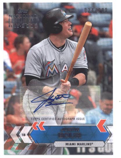 2017 Topps National Baseball Card Day Autographs Aujb