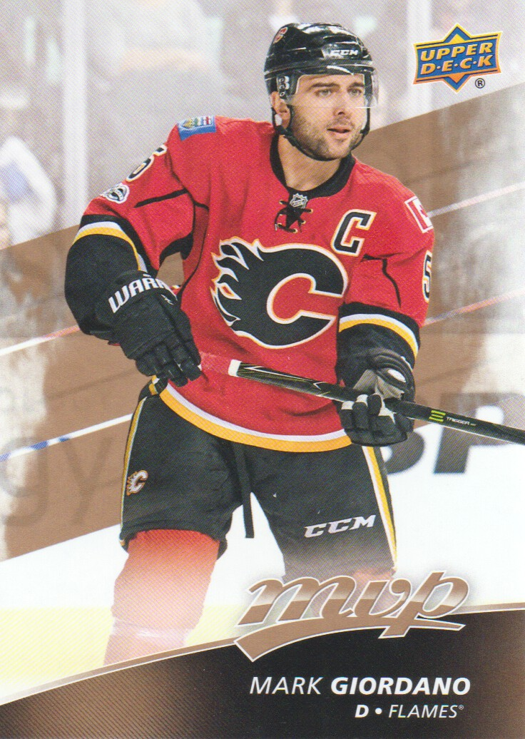 49ad50c9705 2017-18 Upper Deck MVP Hockey  76 Mark Giordano Calgary Flames