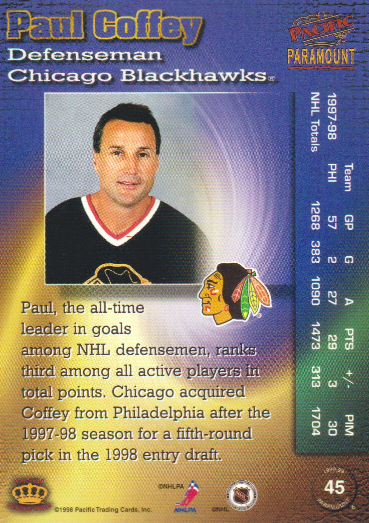 1998-99-Paramount-Copper-Parallel-Hockey-Cards-Pick-From-List thumbnail 9