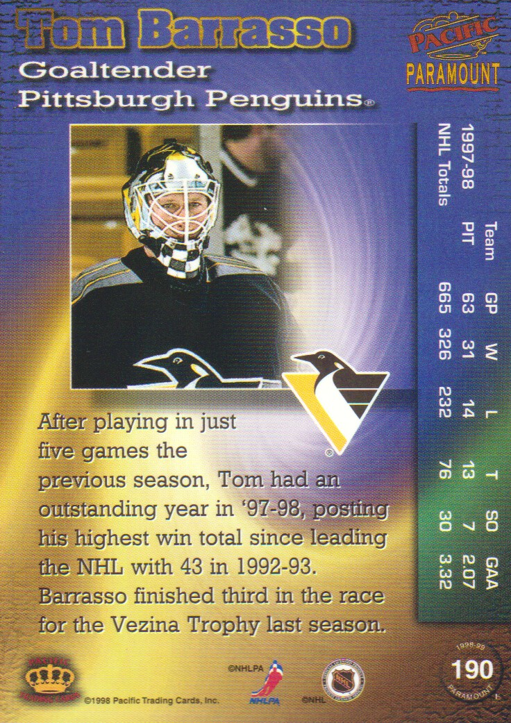 1998-99-Paramount-Copper-Parallel-Hockey-Cards-Pick-From-List thumbnail 37