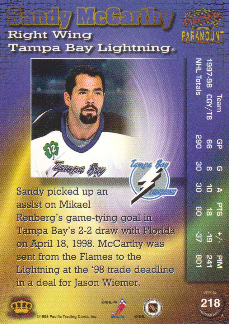 1998-99-Paramount-Copper-Parallel-Hockey-Cards-Pick-From-List thumbnail 43